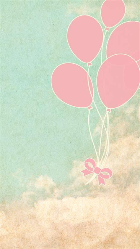 vintage balloons iphone  byme cute design