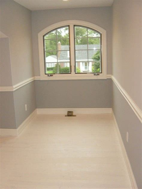 paint colors for bedrooms with chair rail easy way to create visual interest w chair rail and painted pine floor dining