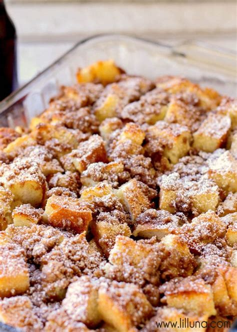 Best Overnight French Toast Bake Lil Luna