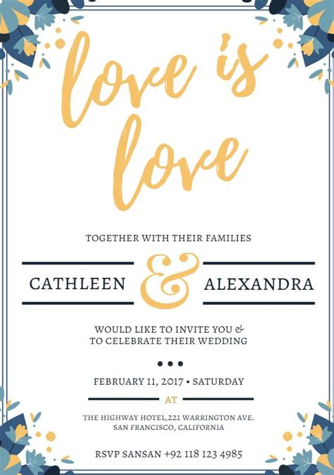 wedding templates free 529 free wedding invitation templates you can customize