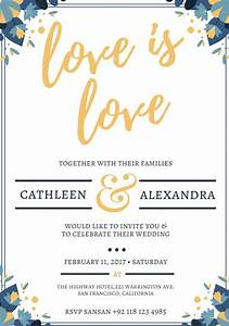 529 free wedding invitation templates you can customize With wedding invitation templates ae