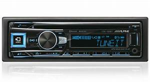 Mp3  Usb  Flac  Aux  Bluetooth    Alpine Cde 193bt Digital Car