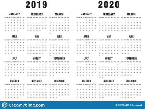 svartvit kalender vektor illustrationer
