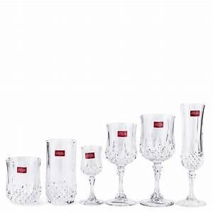 Verres à Vin Maison Du Monde : cristal d 39 arques longchamp verre eau transparent acheter en ligne manor ~ Teatrodelosmanantiales.com Idées de Décoration