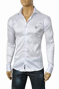Mens Designer Clothes   VERSACE Men's Dress Shirt #147