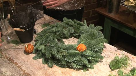 christmas wreath youtube
