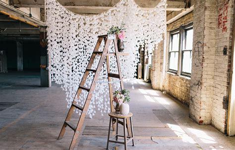 wedding decor backdrop 4 ways to a beautiful wedding on a budget Diy