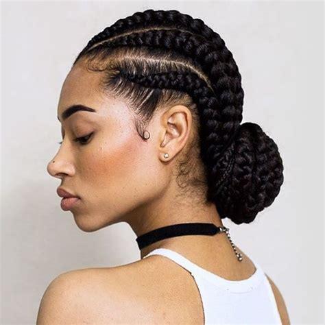 Best 25 Goddess Braids Ideas On Pinterest Black Cornrow Hairstyles