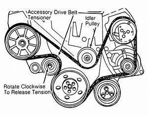 1992 Chrysler New Yorker Serpentine Belt Routing And