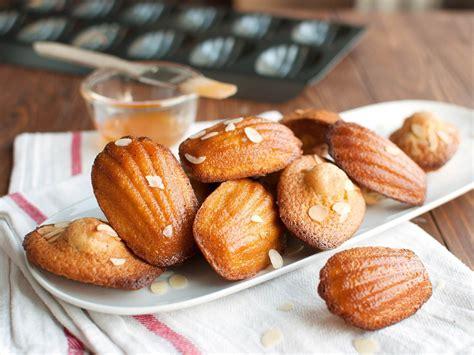 french madeleines  almonds  apricot glaze recipe