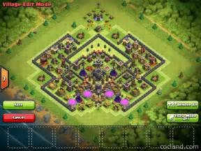 Clash of Clans Th9 Trophy Base 2016