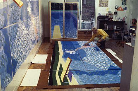David Hockney's Pool Paintings Capture The Best