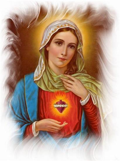 Mary Virgin Mother Blessed Catholic Heart Wallpapers