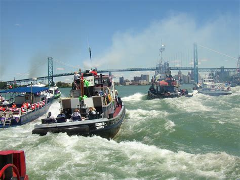 Tugboat Races by The International Tugboat Race On The Detroit River