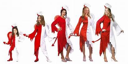 Wife Devil Angelic Halloween Costumes Funny Costume
