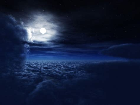 Midnight Background Midnight Blue Wallpapers Wallpaper Cave