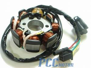 New Stator 8 Pole Scooter Go Kart Atv Gy6 125 150 Is03