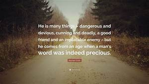 "Michael Scott Quote: ""He is many things – dangerous and ..."