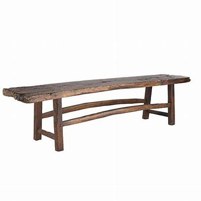 Bench Wooden Antique Benches Wood Table Dark
