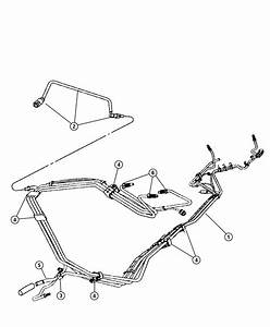 2005 Dodge Neon Tube  Fuel Supply  Fuel Rail To Chassis