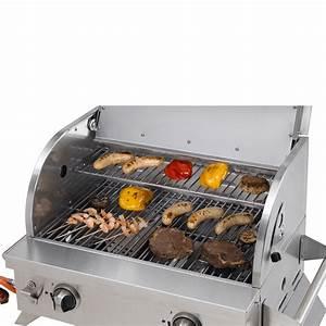 Tepro Tisch Gasgrill : tepro tischgrill cleveland edelstahl tisch gasgrill outdoor cooking gas grill ebay ~ Frokenaadalensverden.com Haus und Dekorationen