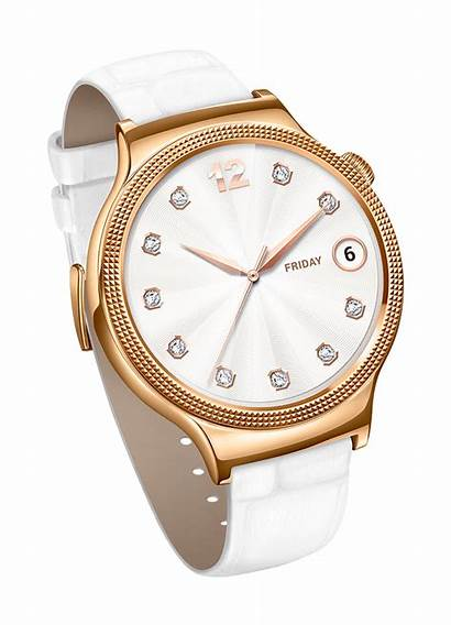 Huawei Smartwatch Wearables Ladies Lady Gold Android