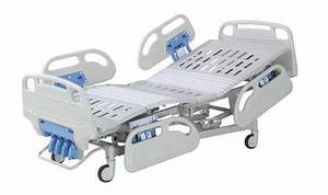 Foldable Manual Hospital Icu Bed   Clinic Bed For The Sick