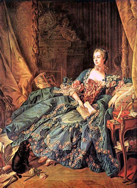 the marquise de pompadour by fran 231 ois boucher
