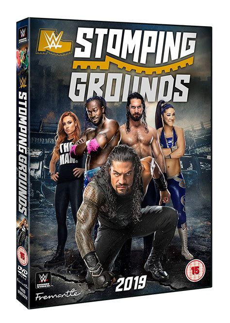 wwe stomping grounds  fetch publicity