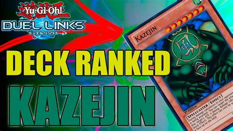 yu gi oh duel links deck ranked kazejin c bandit