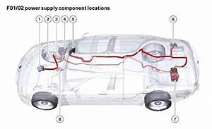 Bmw 7-series  F01  F02 2009 - 2016  - Fuse Box Diagram