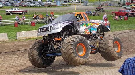 monster truck show in ta hurricane force monster truck show maple festival 2017
