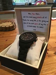 3 year anniversary gift for my boyfriend of 3 years. Watch ...