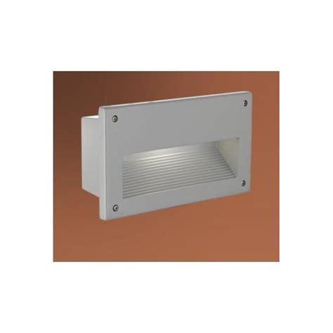 eglo eglo 88575 zimba 1 light outdoor recessed wall light