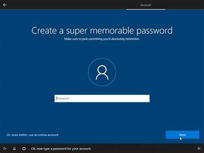 Windows Install Account Microsoft Without Password Cortana