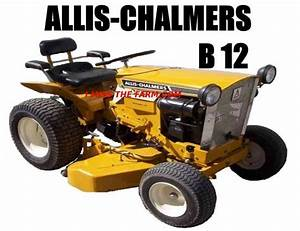 Diagram Allis Chalmers B12