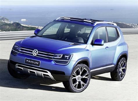 Volkswagen Taigun Set For India Launch In 2016 To Compete