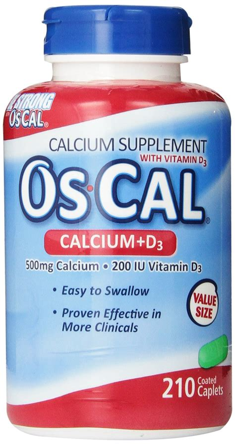 Amazon.com: Os-Cal Ultra 600 + D Supplement With Vitamin D