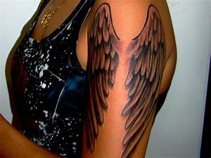 20 Eye-Refreshing Angel Wings Tattoos - SheIdeas