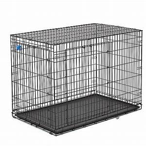 Top pawr double door wire dog crate dog carriers for Petsmart dog crates