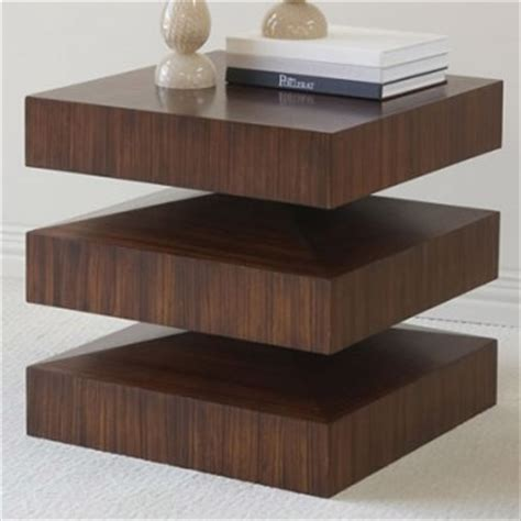 In & Out End Table  Pulp Home  Modern  Nightstands And