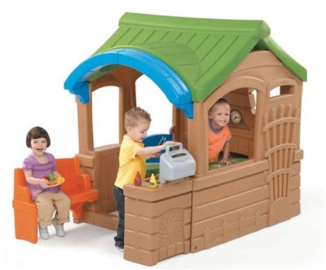 playhouse with kitchen outdoor playhouse with a kitchen encourage your child s