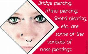 Nose Piercing Information  Options  Procedure  And Aftercare