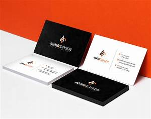 Standard business card printing high quality for Where can i get business cards printed same day