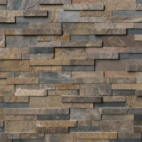 tez marble rustic gold natural stacked stone veneers