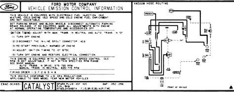 Need Vacuum Line Diagram Please Mustang Forums