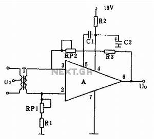 gt audio gt amplifiers gt gf2a op amp audio amplifier circuit With op amp diagram