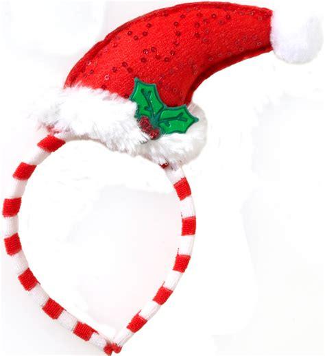 santa hat headband by forum at boston costume