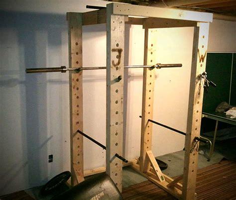 build wooden squat rack plans plans woodworking