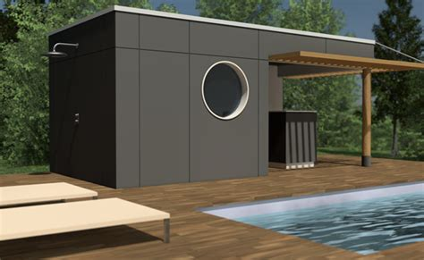 Pool House En Kit Pool House Bois Et